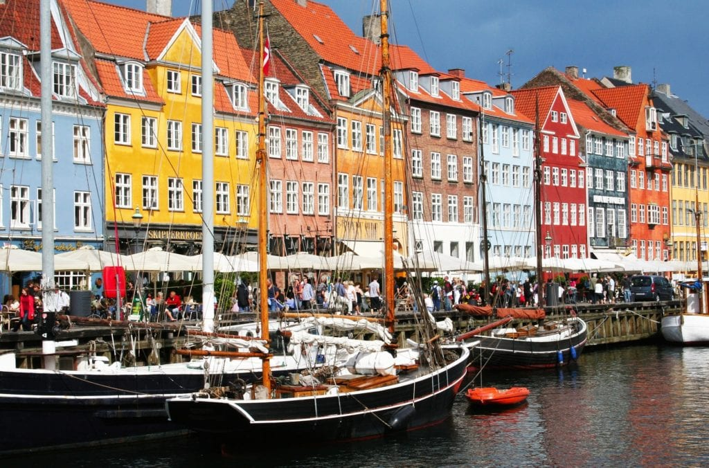 Copenhagen and Stockholm by Rail