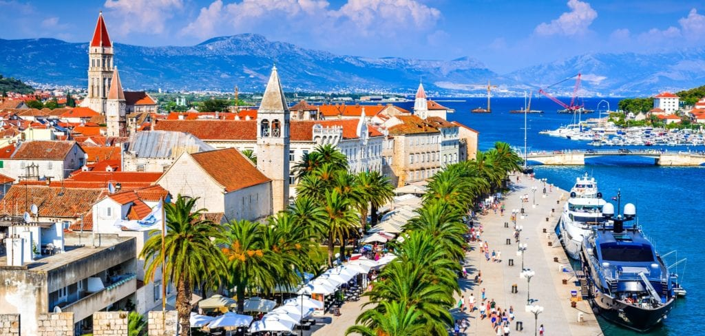 Croatian Coastline by Rail: Split and Hvar