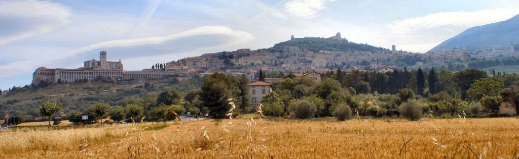 Florence to Rome via Umbria