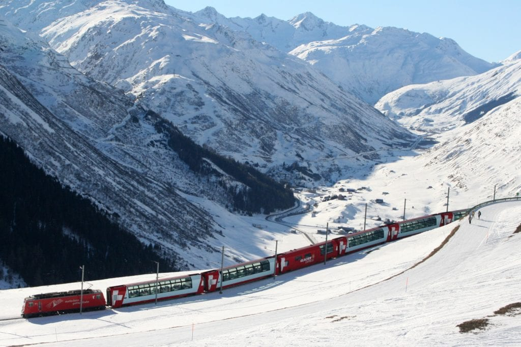 Glacier and Bernina Expresses