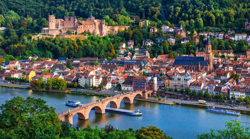 Heidelberg and Lake Constance