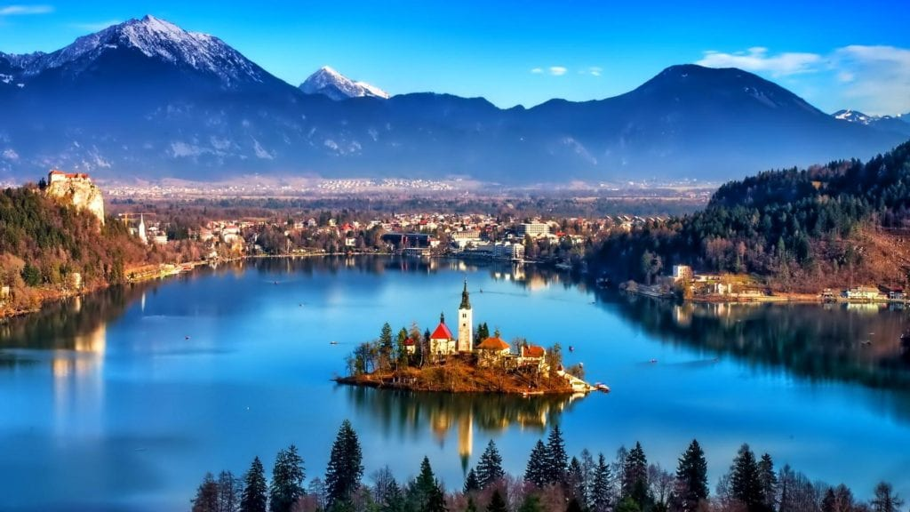 Lake Bled by Rail