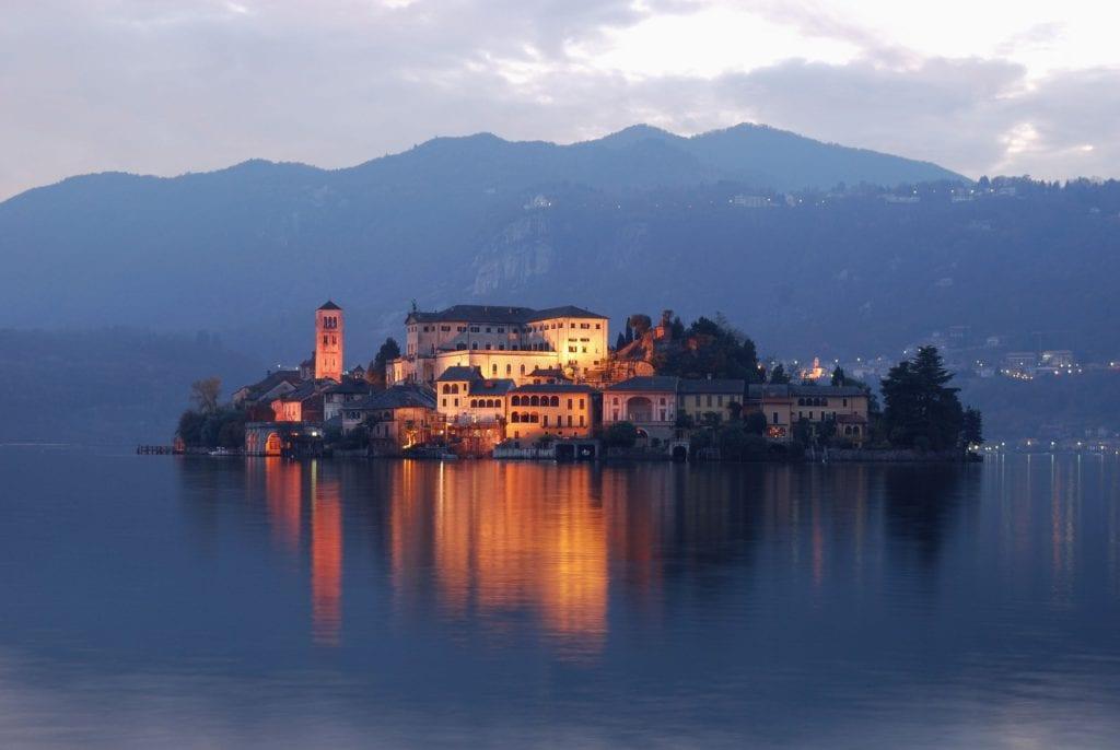 Lake Orta by Rail