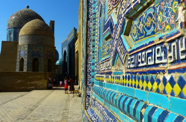 The Silk Road-Moscow to Beijing via Samarkand