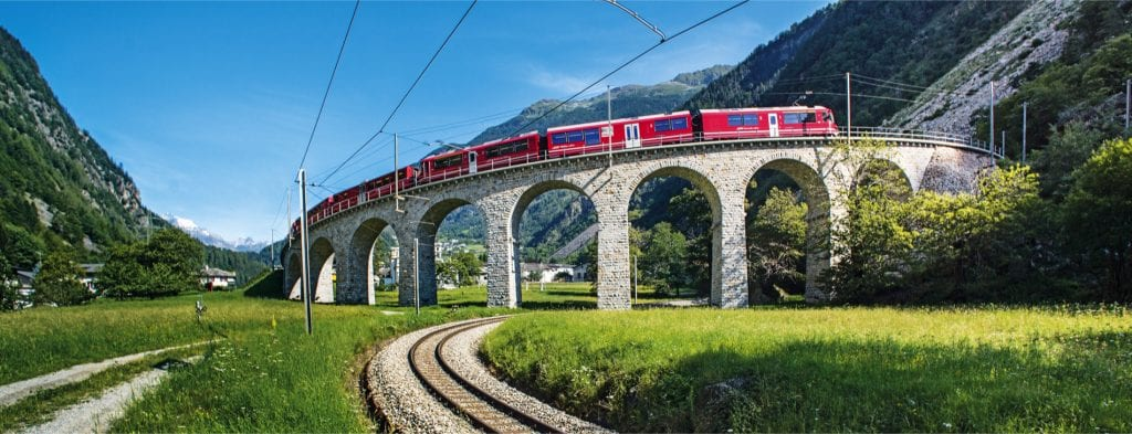 Track the Bernina Express Walking Holiday