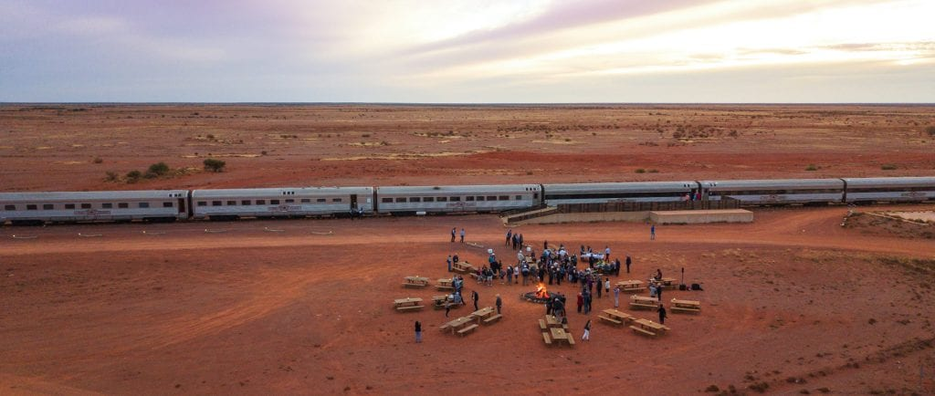 The Ghan: Red Centre Explorer