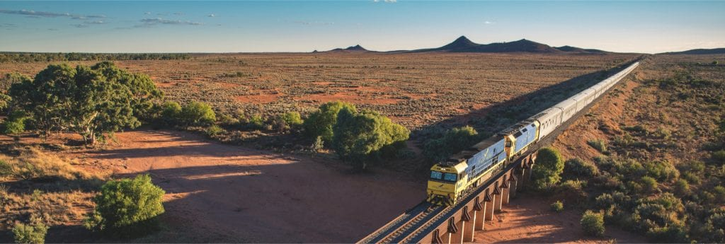 Indian Pacific: Perth to Sydney