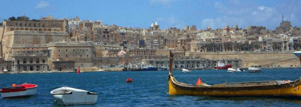 London to Malta by Rail and Sea